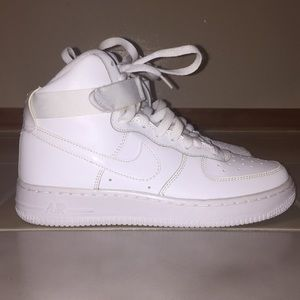 Nike Air Force Ones Size 5.5Y Fits Woman Size 7